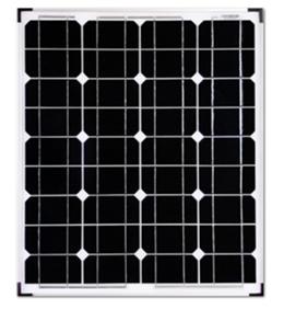 19.8V/50W单晶太阳能板