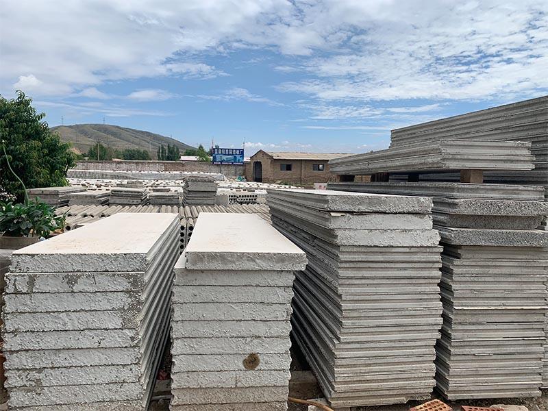 甘肃隔墙板厂,水泥发泡隔墙板多少钱一平方米