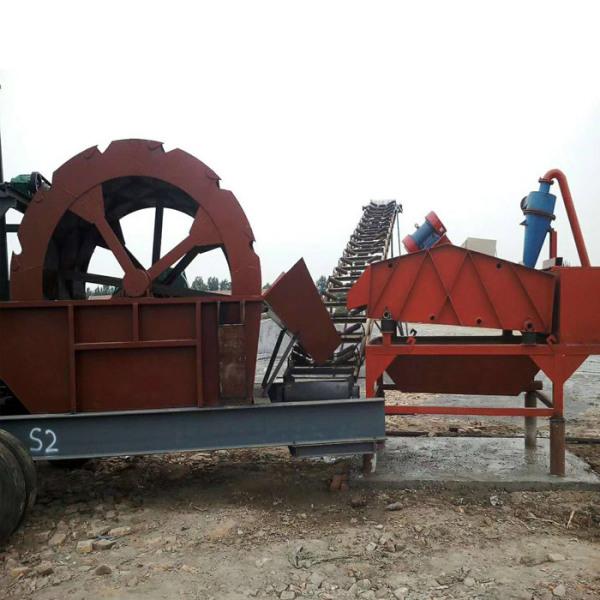 广西轮式洗沙机生产厂家
