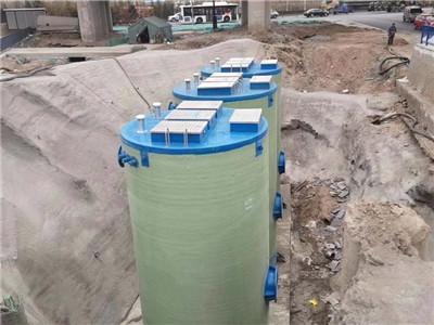 一體化預制泵站玻璃鋼全自動遠程地埋式智能雨水工業污水提升泵站