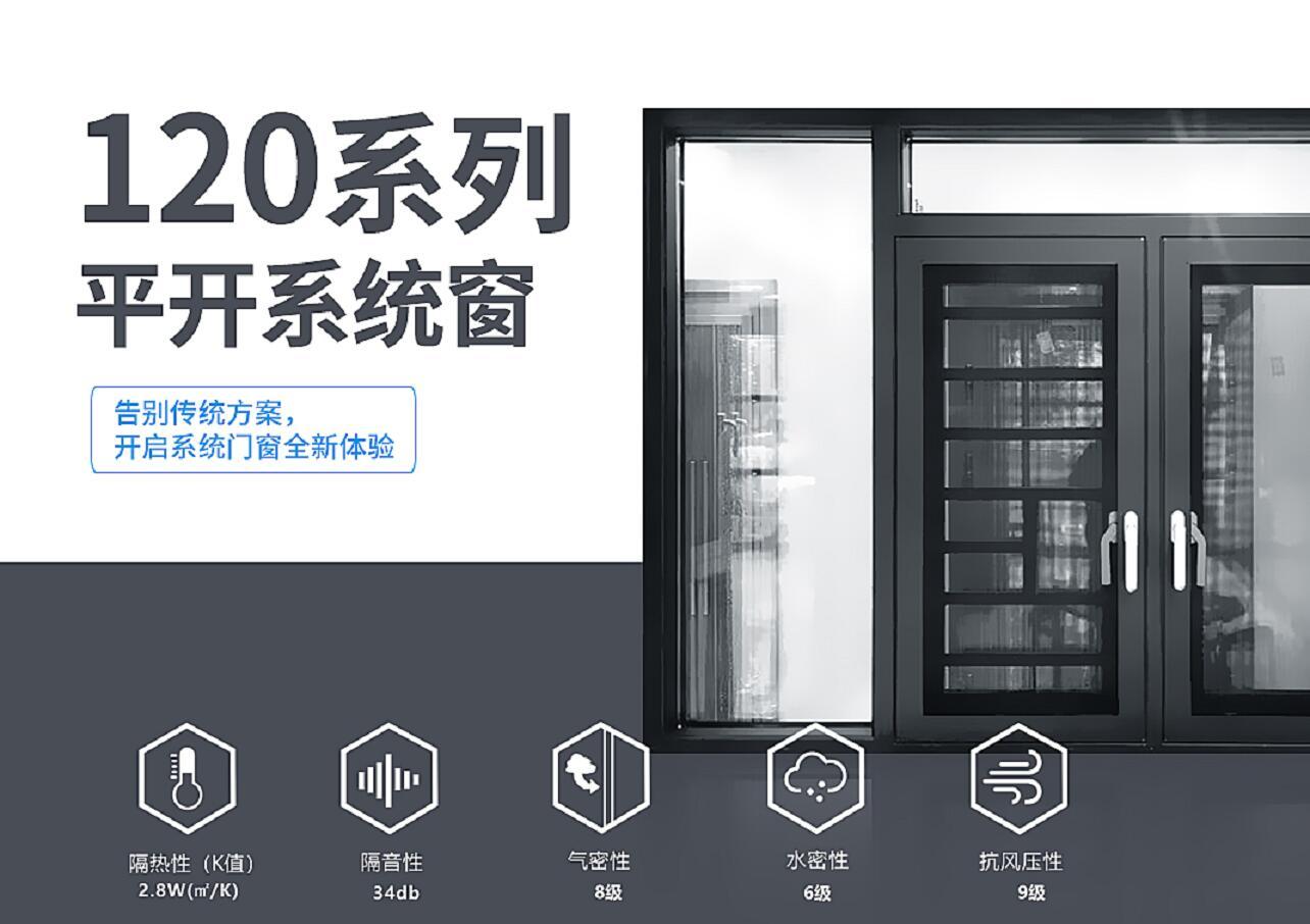 断桥系统窗定制服务商/断桥系统窗制造/铝运门窗