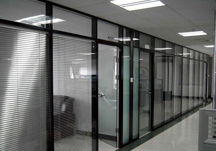 高隔间双玻璃隔断
