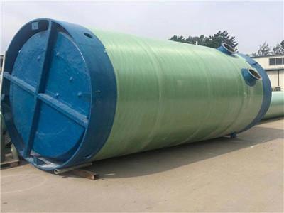 一體化預制泵站玻璃鋼一體化提升泵站污水雨水市政地埋式全自動
