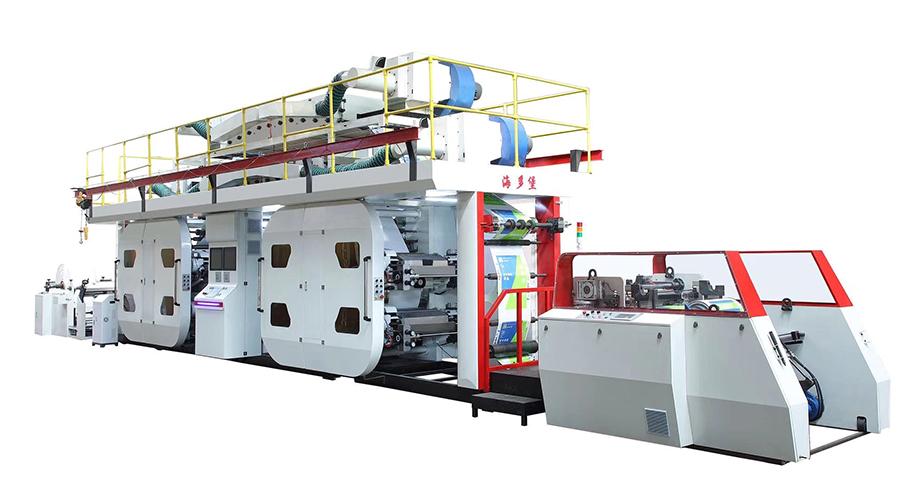 衛星柔印機-大量供應高性價衛星式柔版印刷機