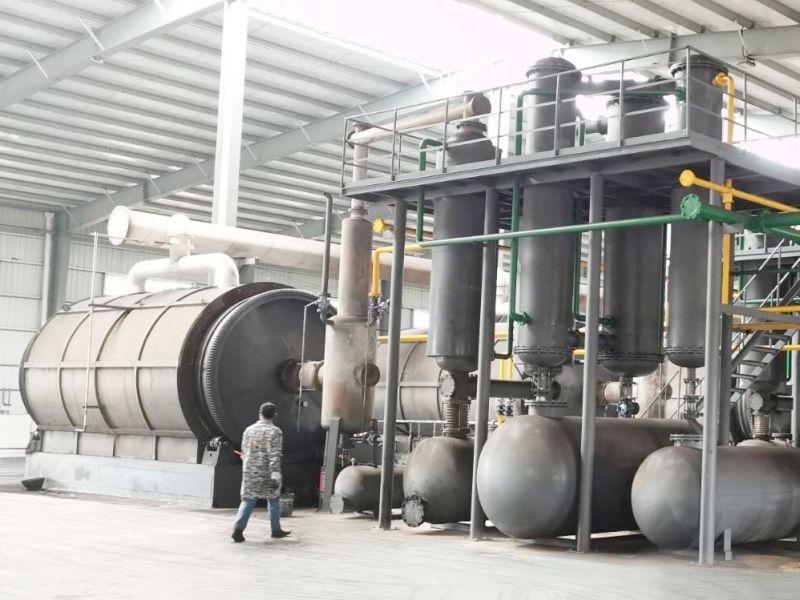 原油油泥處理設備-油泥裂解設備商機-油泥裂解設備圖片