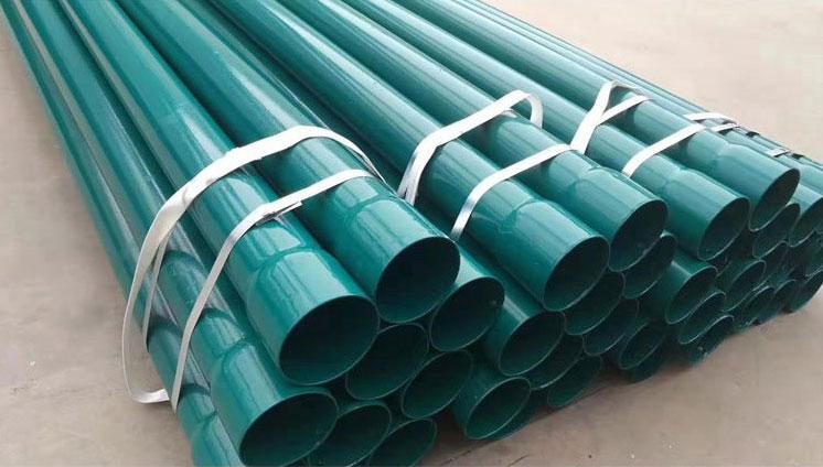 涂塑复合钢管无缝防腐内外涂塑不锈钢管道给排水电力工业用管