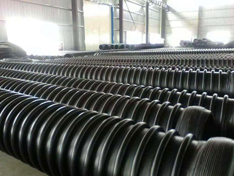 兰州克拉管批发-钢丝网骨架复合管-HDPE缠绕结构壁B型管厂