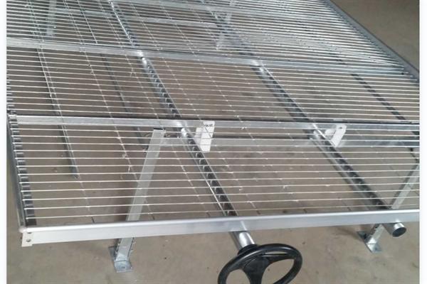 温室大棚移动苗床 热镀锌育苗床 苗床生产厂家