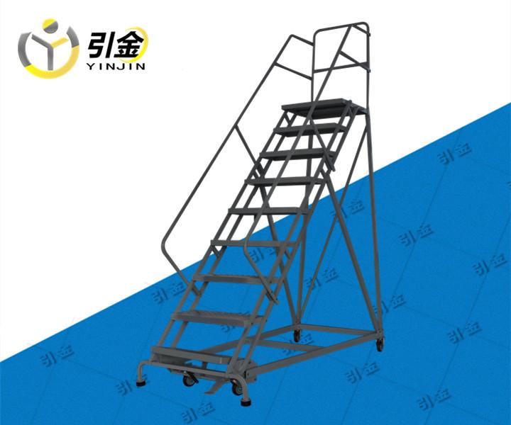 重庆长寿区九步登高梯 登高车图片大全_移动工作平台梯