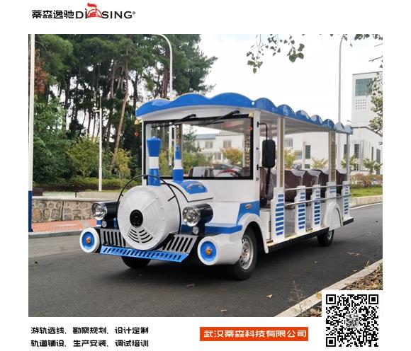 14座燃油小火车网红小火车生产厂家